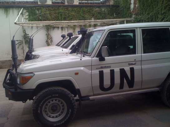 The UN HQ